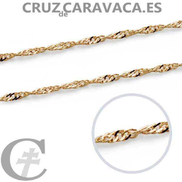 f5e6ee5ba96e CADENA SINGAPUR 1.2MM 45CMS - Cruz de Caravaca